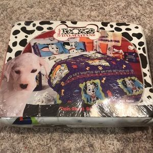 Brand new Disney's 102 Dalmatians twin sheet set